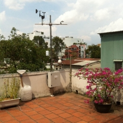 CARE weather station for teaching and research of urban water in HCMC